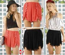 Polyester Casual Shorts for Women