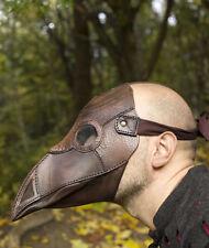 New LARP plague doctor mask brown #10011700 (refbtesac204)
