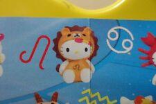 Sanrio Hello Kitty Strap Zodiac CellPhone Charm Gashapon Figure Leo Air Mail