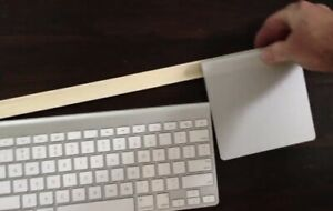 Apple Keyboard And Trackpad Holder Mount Video In Description.  MOUNT ONLY!