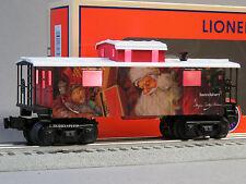 LIONEL ANGELA TROTTA CHRISTMAS CABOOSE O GAUGE LIGHTED train santa 6-83177 NEW