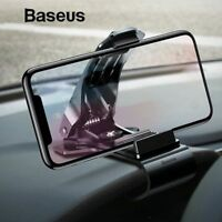 Baseus Car Dashboard Mount Holder Stand Clip for iPhone Mobile Cell Phone GPS