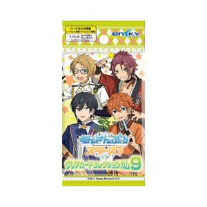 """4 Random Packs of  """"Ensemble Stars!"""" Clear Card Collection / Gum  4970381440237"""
