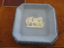 New ListingWedgwood jasperware trinket or ashtray square 4 inches wide