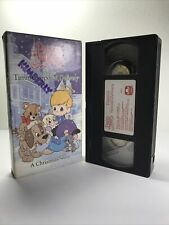 Precious Moments Timmy's Special Delivery A Christmas Story VHS 1993 E3