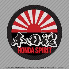 HONDA Spirit Japanese Kanji Vinyl Decal Sticker JDM Civic CRX Integra  P049_01