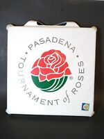 Vintage RARE Tournament of Roses Parade SEAT CUSHION Rose Bowl Pasadena, Calif.