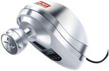 IHeat Silver Metallic Indoor Outdoor Electric Shower Head Tankless Water Heater