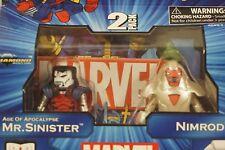 Marvel 2 pack Minimates - Mr. Sinister & Nimrod - Series 41