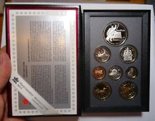 CANADA  1997   PROOF DOUBLE DOLLAR  coin SET, 8 coins, sterling, 925 silver