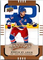 MARTIN ST LOUIS 2015-16 Upper Deck MVP SP #156 ($0.75 MAX SHIPPING)