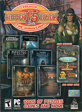 THE CLUMSYS Hidden Object & Time Management PREMIUM 15 PACK PC Game DVD NEW