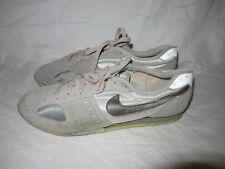 Vintage Nike Yellow Swoosh 80s Made in Korea Court Shoe Sneakers Men 8.5 Nice