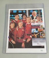 Star Trek Walter Koenig Nichelle Nichols Signed 8x10 Photo Autograph JSA COA 594