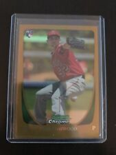 2011 Bowman Chrome Gold /50 Tyler Chatwood Rookies Refractor Cubs RC SP