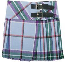 Girls Pure Wool Billie Kilt Skirt in World Peace