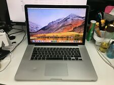 """Apple MacBook Pro A1286 15"""" Core i7 2.2 Ghz 8GB 256GB SSD MS OFFICE INSTALLED 3"""