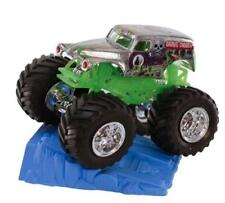 NEW Hot Wheels Monster Jam Grave Digger w/Blue Stunt Ramp, #29