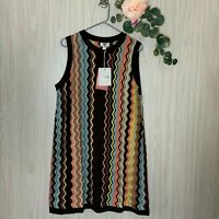 NWT Missoni for Target Sweater Dress Women's Size XL Sleeveless Chevron