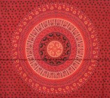 Indian floral flower mandala wall hanging bohemian hippie tapestry queen size