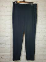 J Jill Pants Ponte Slim Leg Size S Inseam 29 inch Black Pull On EUC FAST SHIP