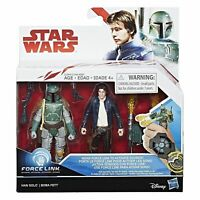 Star Wars Star Wars Force Link  Han Solo and Boba Fett Action figure