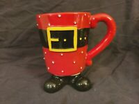 "burton & Burton ""Believe in Santa"" Ceramic Coffee Mug/Cup"