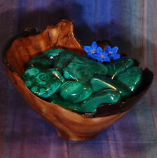 1 MALACHITE Tumbled Stone - Consciously Sourced Healing Crystals