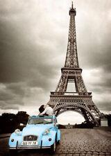 RIESEN Poster PARIS/FRANCE -Turquoise Citroen ca100x140cm NEU FL378