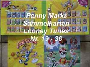 1 SAMMELKARTE (Nr.19-36) Ihrer Wahl von Looney Tunes Active! / Penny Markt