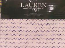 Ralph Lauren Nora Zig Zag King Size Sheet Set - FREE TWO DAY FEDEX SHIPPING