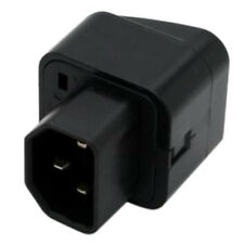 IEC 320 C14 to universal Female Power Adapter AC Power Plug Connector Y1G6