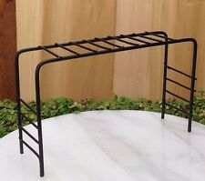 Miniature Dollhouse FAIRY GARDEN Furniture ~ Black Metal Monkey Bars ~ NEW