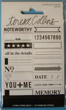 NEW 132 pc JOURNALING STICKERS Memory Noteworthy You + Me TERESA COLLINS
