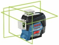 Bosch GLL3-330CG 360-degree 3-Plane Green Laser ADDITIONAL FREE RECHARGEABLE BAT