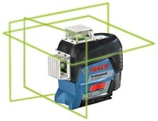 Bosch GLL3-330CG 360-degree 3-Plane Leveling Green Laser with free extra battery