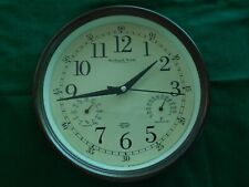 Vintage Sterling and Noble Time, Temp. and Humidity Wall clock