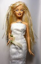 OOAK BARBIE SPOSA Series 1 bambolotto e Vestito # 2