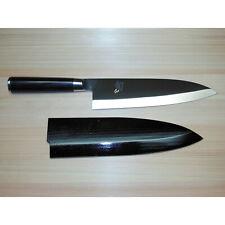 """New* Shun Pro 8 1/4"""" Deba Knife VG0210D Sushi Sashimi Kai VG10 Saya Original Old"""