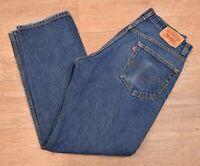 """vtg Levi's 505 Red Tab Denim Jeans - W34"""" x L30"""" #585"""