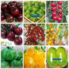 33Kind Total 120 Random mixed Tomato Seeds Black Purple Cherry Fruit Vegetable