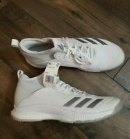 Adidas Crazyflight x 2 mid Boost Shoes Women's 12.5 Men's 11.5 New DS