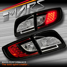 Black LED Tail lights for MAZDA 3 Sedan 2003-2009 Taillight Brake lamp BK