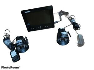 Lorex Wireless Security Camera System w 7inch Monitor And Two Cameras