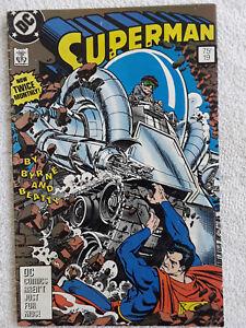 Superman #19 (Jul 1988, DC) Third Printing Ordway Variant VG+ 4.5