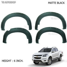 Matte Off-Road Fender Flares Flare Chevrolet Colorado Holden 2012 2014 2015 2016