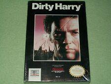 BRAND NEW Dirty Harry (Nintendo Entertainment System) NES Factory Sealed H-Seam