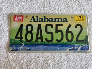 Alabama Wildlife 48AS562 Genuine Pre-Owned USA American License Plate