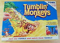 TUMBLIN' MONKEYS GAME FROM TOMY. Family Board Game, Near Complete