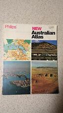 philips NEW AUSTRALIAN ATLAS 1973 s/c